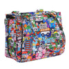Ju-Ju-Be x Tokidoki diaper bag Be Sassy Sushi Cars *