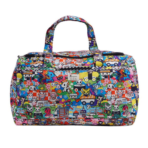 Ju-Ju-Be x Tokidoki Super Star bag in Sushi Cars *