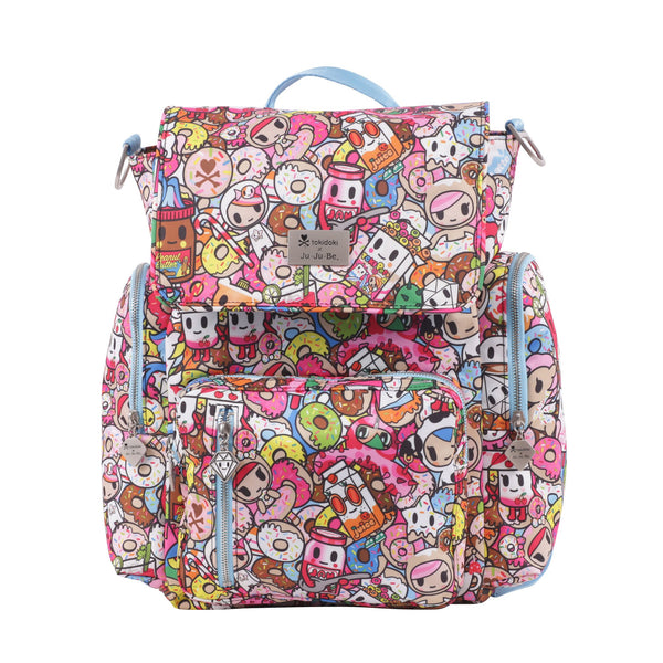 Ju-Ju-Be x Tokidoki Be Sporty diaper backpack in Tokipops *