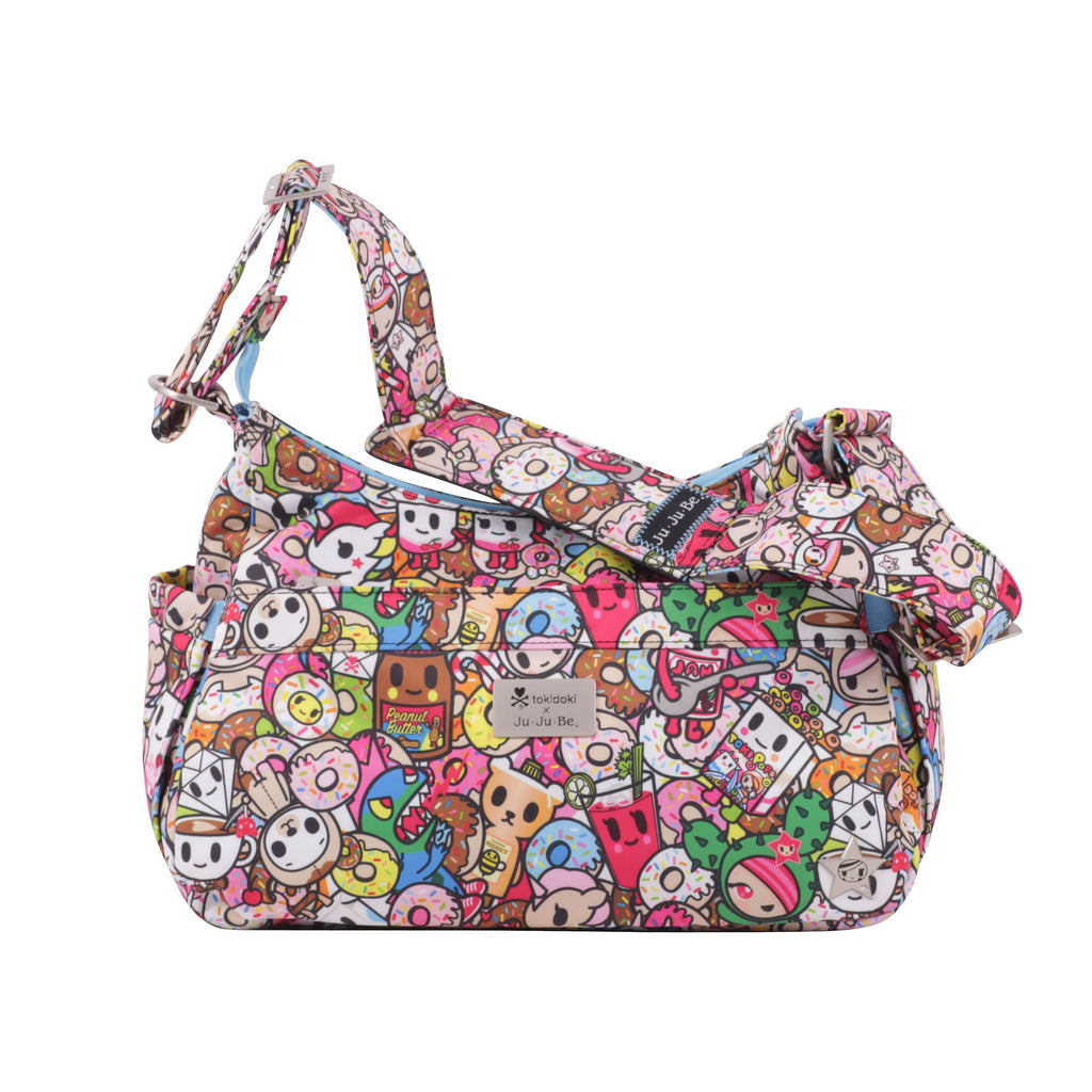 Ju-Ju-Be x tokidoki HoboBe diaper bag in Tokipops *
