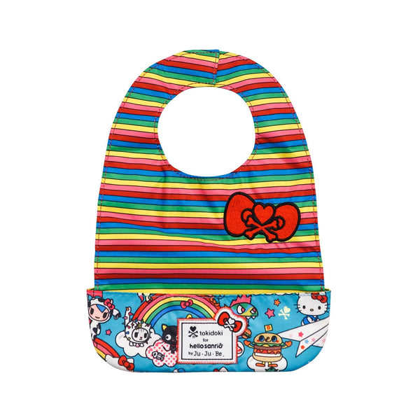 tokidoki for Hello Sanrio by Ju-Ju-Be Be Neat Bib Rainbow Dreams *