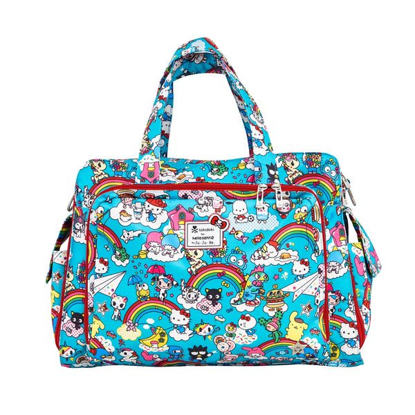 tokidoki for Hello Sanrio by Ju-Ju-Be Be Prepared changing bag Rainbow Dreams *