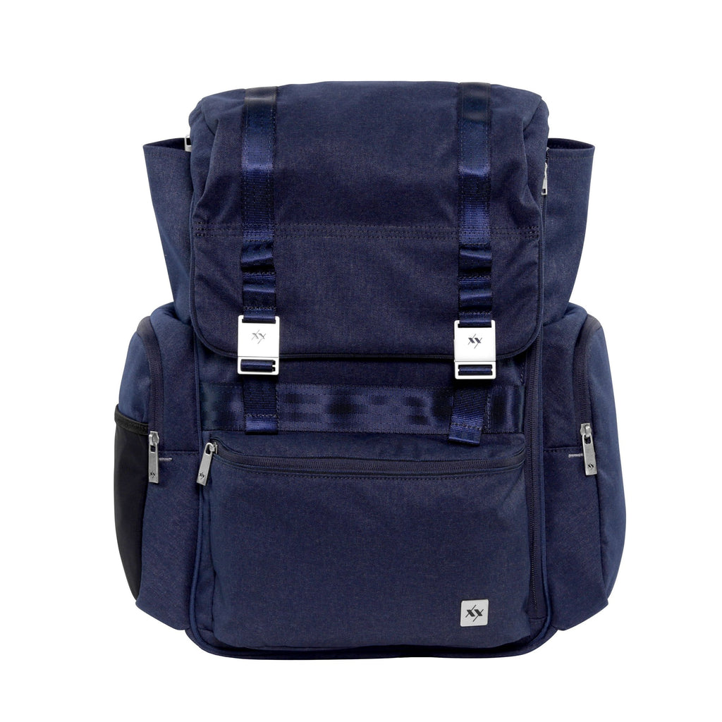 Ju-Ju-Be XY Hatch changing backpack in Gene