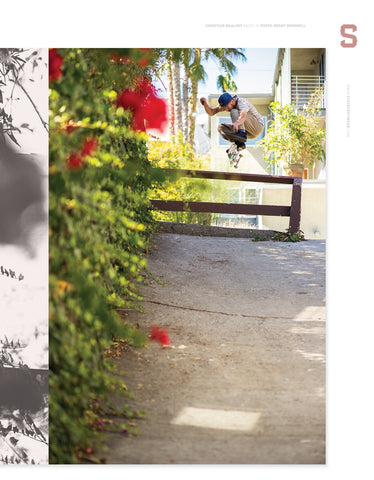 Christian Maalouf kickflip photo by Brent Odonnell
