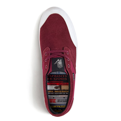 Bishop Theories x Black Cherry Suede/Rubber Toe
