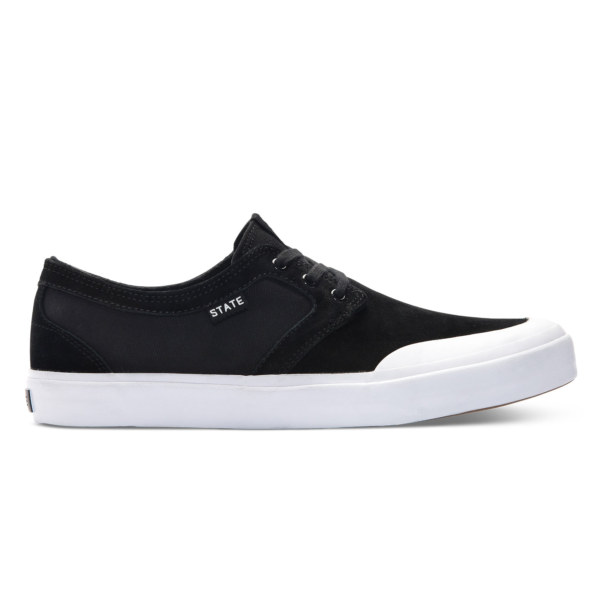 Bishop Black/White Rubber Toe