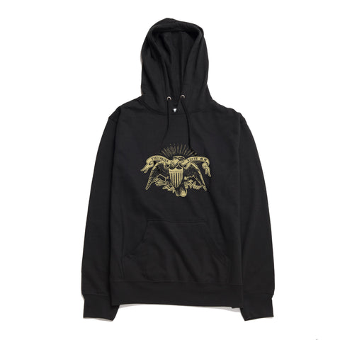 Free and Liberated Zip Up Sweatshirt Black
