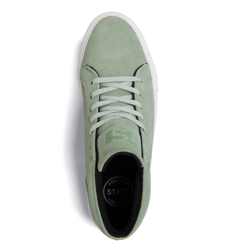 Salem Mint/White