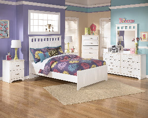 Ashley Furniture Lulu 4 Piece Double Headboard Bedroom Set