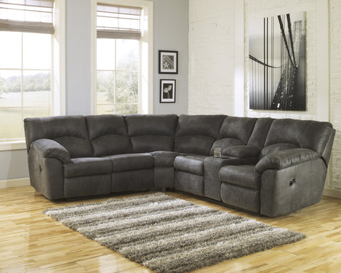 Ashley Furniture Tambo Reclining Sectional