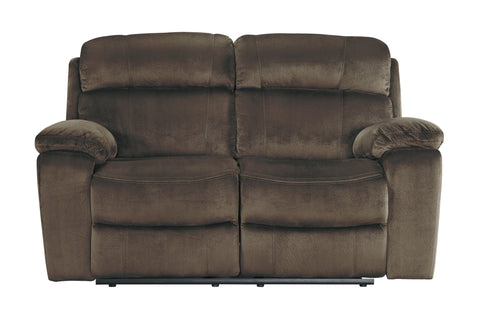 Ashley Furniture Uhland Power Reclining Love Seat with Adjustable Head Rest