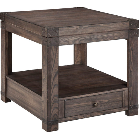 Ashley Furniture Burladen Rectangle End Table