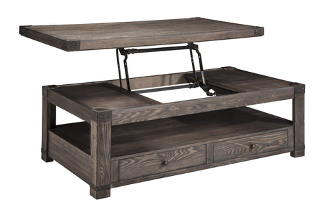 Ashley Furniture Burladen Lift Top Cocktail Table