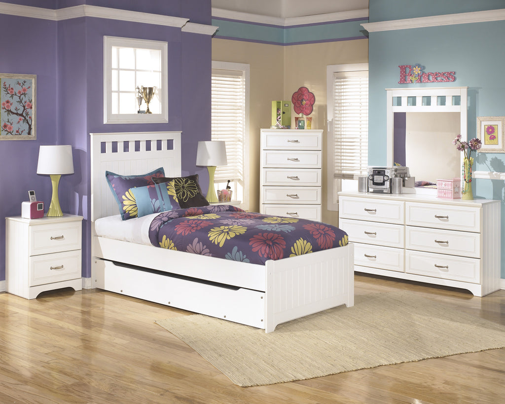 Ashley Furniture Lulu Twin Bed With Trundle