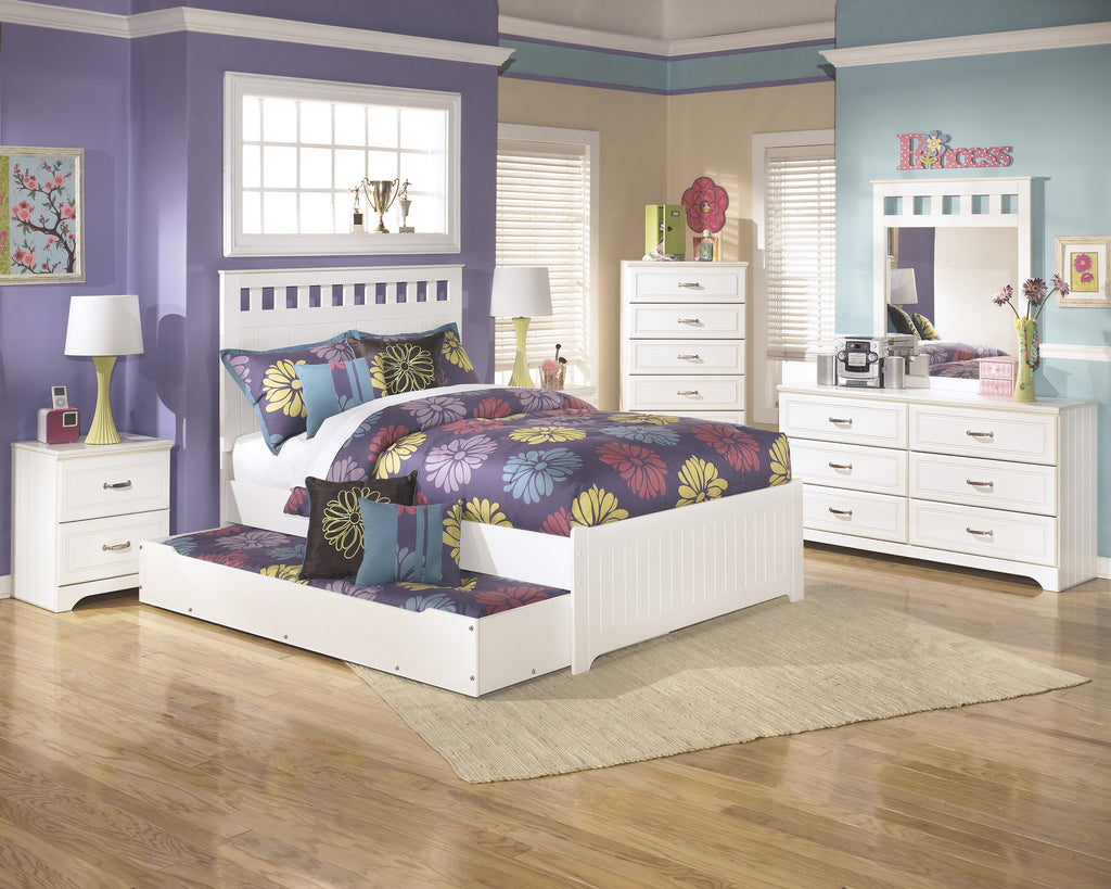 Ashley Furniture Lulu Double Panel Bed With Trundle