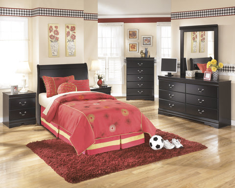 Ashley Furniture Huey Vineyard 4 Piece Twin Bedroom Set