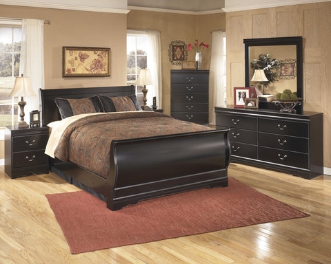 Ashley Furniture Huey Vineyard Queen Sleigh Bed
