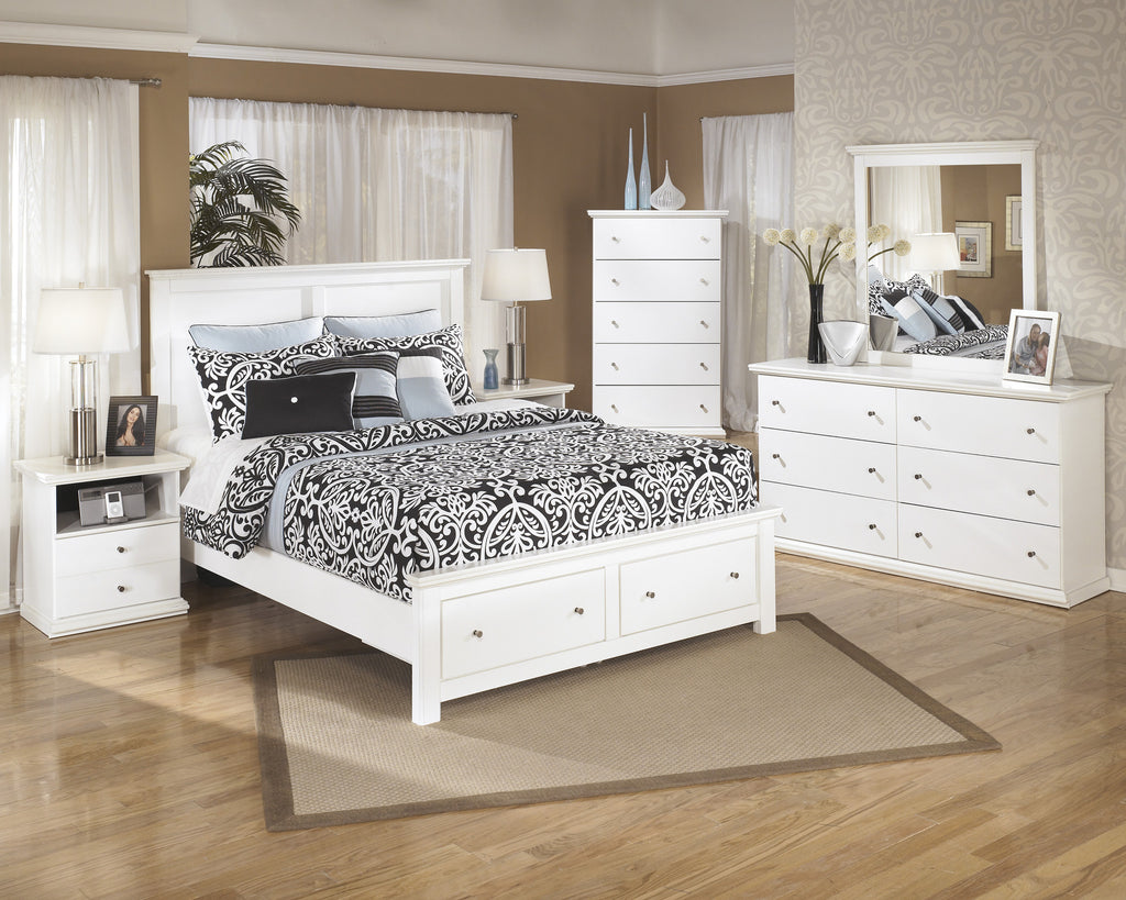 Ashley Furniture Bostwick Shoals Queen Storage Bed