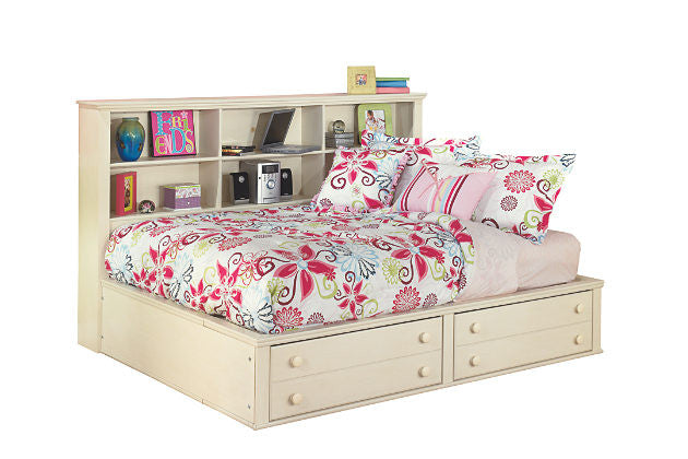 Ashley Furniture Cottage Retreat Twin Bookcase Storage Bed