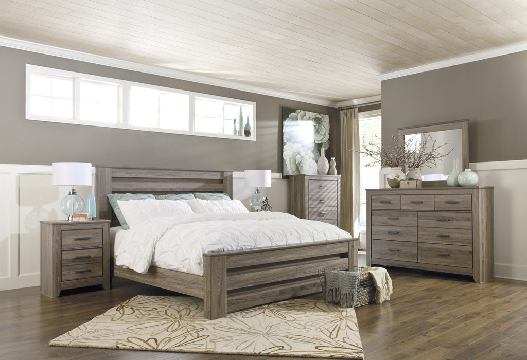 Ashley Furniture Zelen 6 Piece King Bedroom Set