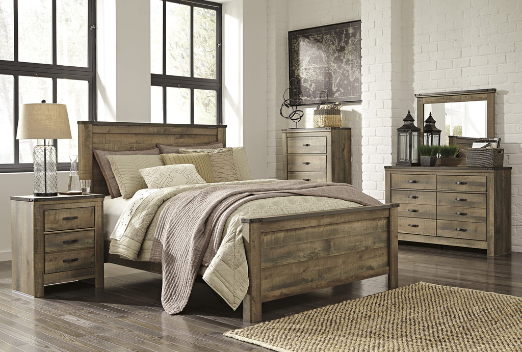 Ashley Furniture Trinell Queen 6 Piece Bedroom Set