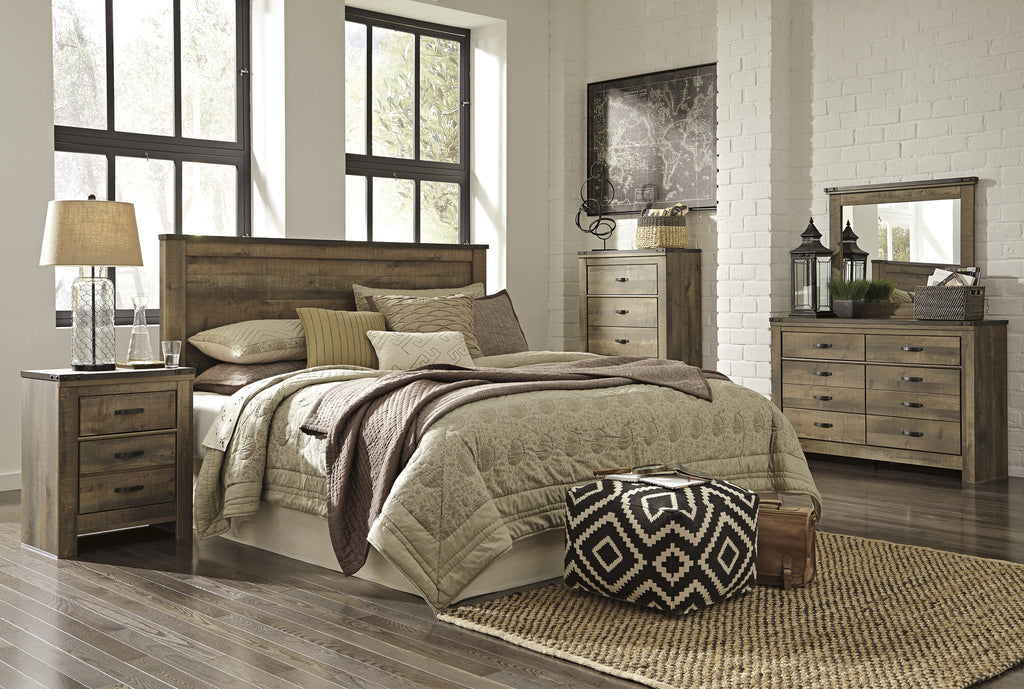 Ashley Furniture Trinell Queen Panel Bed