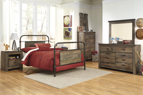 Ashley Furniture Trinell Double Metal Bed