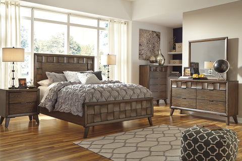Ashley Furniture Debeaux 6 Piece King Bedroom Set