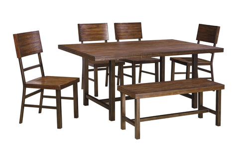Ashley Furniture Riggerton 6 Piece Rectangular Dining Set