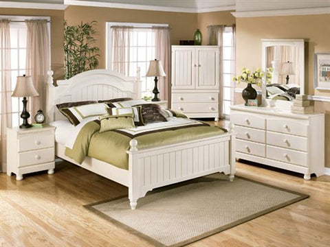 Ashley Furniture Cottage Retreat 4 Piece Queen Bedroom Set