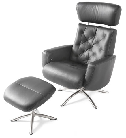 Palliser Q02 Spectra all leather lounge chair