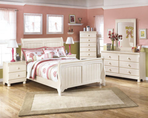 Ashley Furniture Cottage Retreat 4 Piece Double Bedroom Set