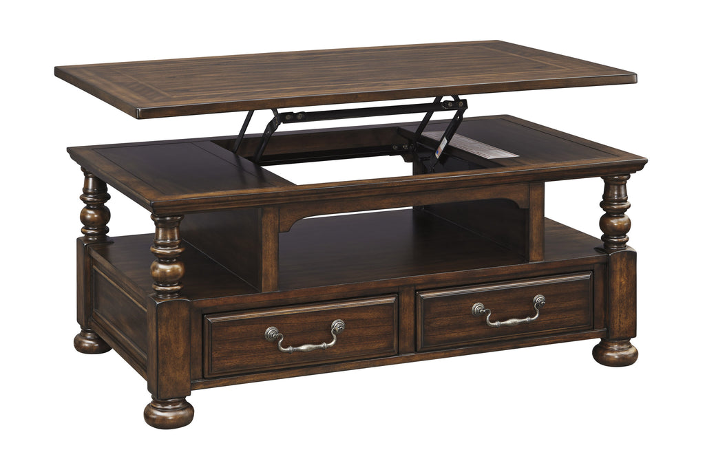 Ashley Furniture Brosana Lift Top Cocktail Table