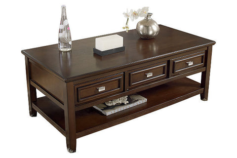 Ashley Furniture Larimer Rectangle Cocktail Table