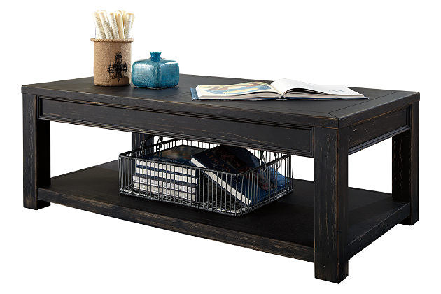 Ashley Furniture Gavelston Rectangle Cocktail Table