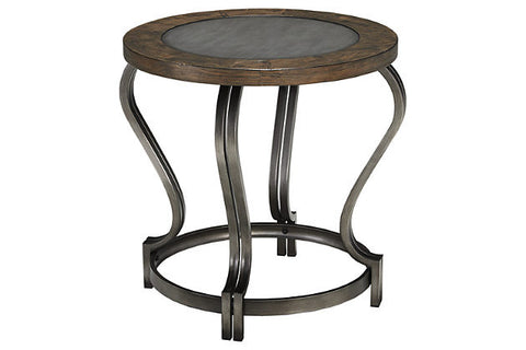 Ashley Furniture Volanta Round End Table