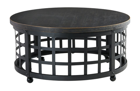 Ashley Furniture Marimon Round Cocktail Table