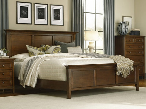 A-America Westlake Queen Panel Bed