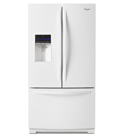 25 cu. ft. Whirlpool® French Door Refrigerator with MicroEdge®