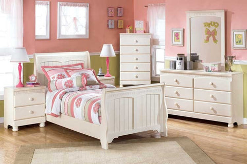 Ashley Furniture Cottage Retreat 4 Piece Twin Bedroom Set