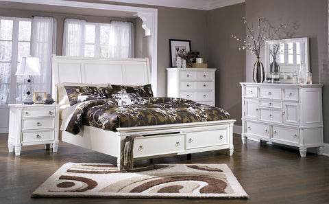Ashley Furniture Prentice 4 Piece Queen Bedroom Set
