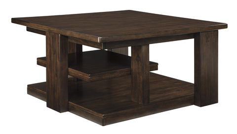 Ashley Furniture Garletti Square Cocktail Table