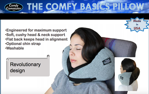 Comfy Basics Travel Pillow