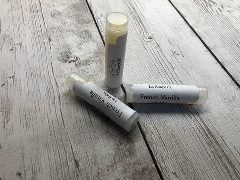 French Vanilla Lip Balm - La Soaperie