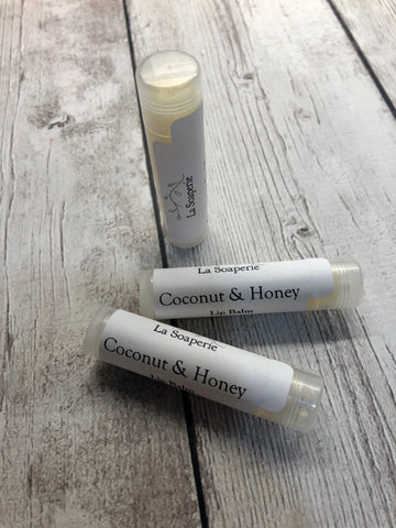 Coconut & Honey Lip Balm - La Soaperie