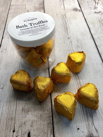 Bath Truffles, Lavender and Shea Butter - La Soaperie