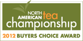 Buyers Choice Award, North American Tea Championship 2012