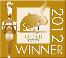 Sofi Gold Award for Innovation in Packaging Design or Function, 2012
