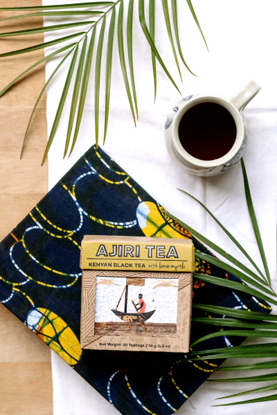 Kenyan Black Tea with Lemon (Teabags)
