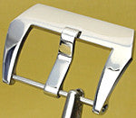 Polished screw in Pre-V Panerai style buckle